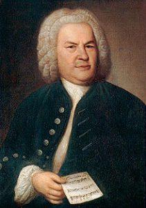 portrait of composer Bach