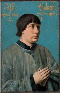 picture of Jacob_Obrecht painted by Hans Memling 1496