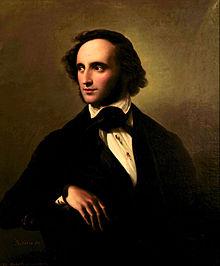 Portrait of Mendelssohn