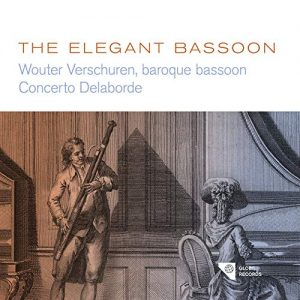 cover of CD the elegant bassoon
