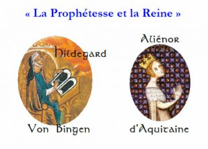 poster for concert The Prophetesse and the Queen