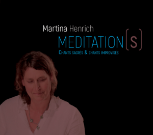 CD cover of Martina Henrich Meditation(s)